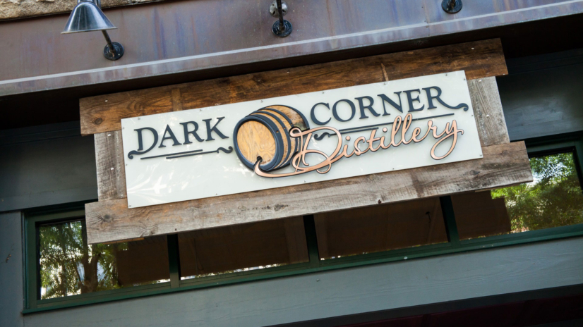 Stop by Dark Corner Distillery's beautiful new location on 14 South Main in downtown Greenville, SC to sample  award-winning craft spirits and shop one-of-kind gifts in their retail shop.